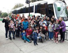 VISITAN LA FIDAE LOS NIÑOS, NIÑAS Y ADOLESCENTES DEL CENTRO PREVENCION CONCHALI